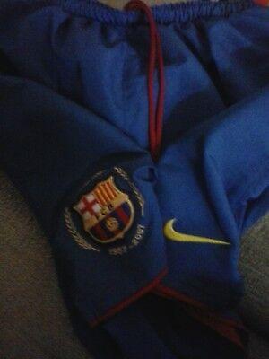 Barcelona football shorts - 2007 collectible