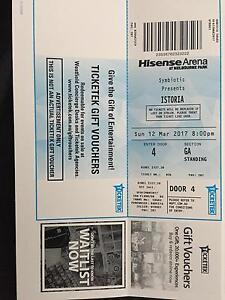 Istoria-Melbourne hardcopy ticket Adelaide CBD Adelaide City Preview