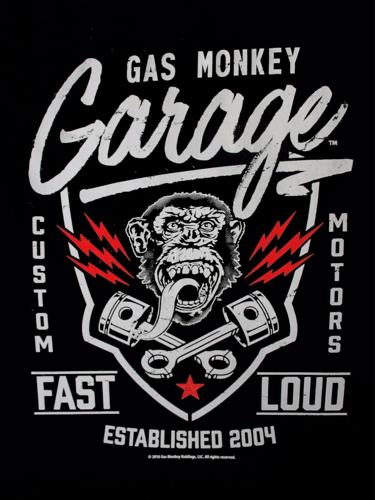 Gas Monkey Garage Pistons Custom Motors Beers Fast N Loud