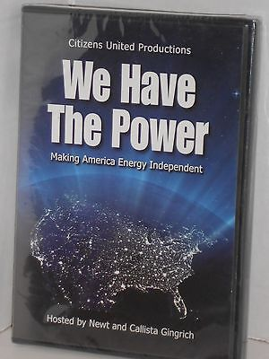 2008 We Have The Power Making America Energy Independent Dvd New Sealed