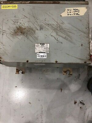 Westinghouse Dry Type Transformer 15 Kva 480 Primary - 208120 Secondary T-6e982