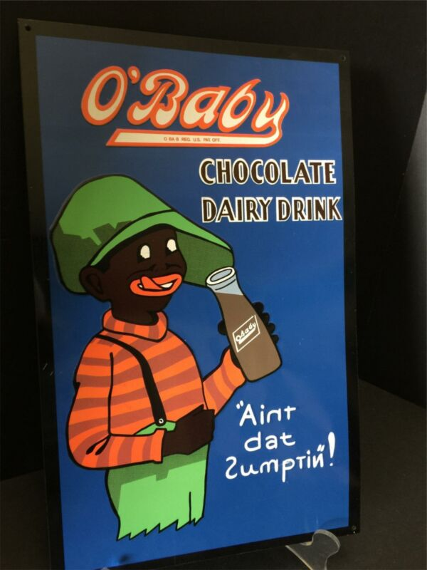 Chocolate Milk Advertising Sign O