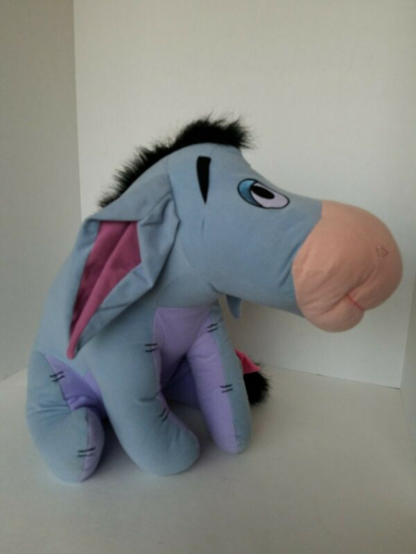 "Eeyore from Winnie the Pooh 14"" Plush Stuffed Toy Disney Store"