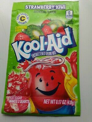 Kool-Aid Drink Mix Strawberry-Kiwi 10 Packets