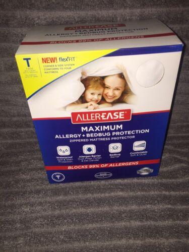 AllerEase Maximum Allergy & Bed Bug Protection Zippered Matt