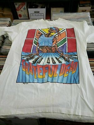 BEST VINTAGE Grateful Dead Summer Tour 1989 GILDAN T-SHIRT USA