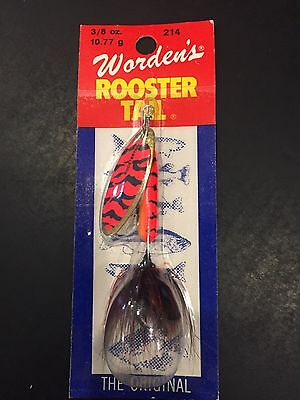 Worden/'s Rooster Tail 217 3//4oz FLC