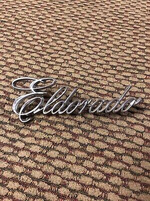 1979 - 1985 Cadillac ELDORADO  Emblem Never Mounted  1614599