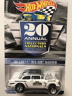 Hot Wheels '55 Chevy BelAir Gasser 20th Annual Collectors Nationals Car.