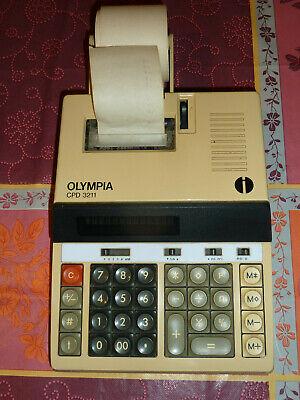 druckende Rechenmaschine Neu//OVP OLYMPIA Tischrechner CPD 5212