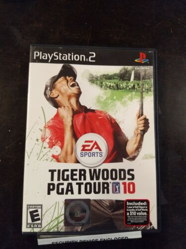 Tiger Woods PGA Tour 10 Sony PlayStation 2, 2009  - $5.20