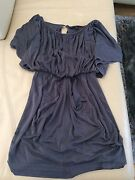 Forever New Top/Dress Size 6 100% Silk Grey Maylands Bayswater Area Preview