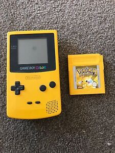 Gameboy colour with Pokémon yellow. Wattle Grove Liverpool Area Preview