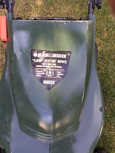 Lawn mower and Edge trimer