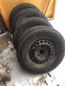 225 65 16 winter tires and wheels