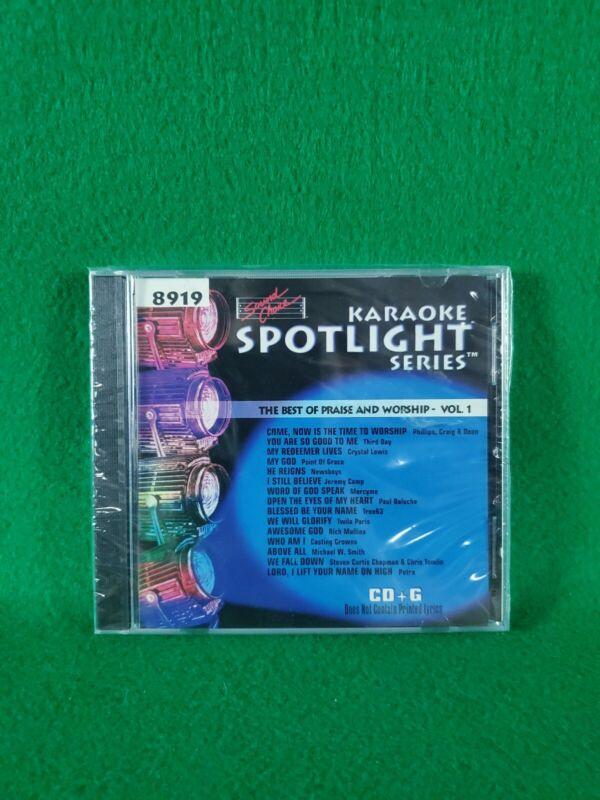 Karaoke Spotlight Series CD+G Sound Choice Disc 8919 Best of Praise & Worship