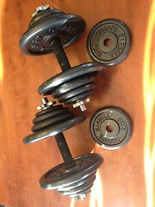 Champs Metal Weight Dumbbells