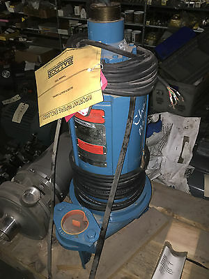 Baldor Reliance Submersible Pump 3 Hp 1750 1800 Rpm 180ty 3 Ph 460 B407378