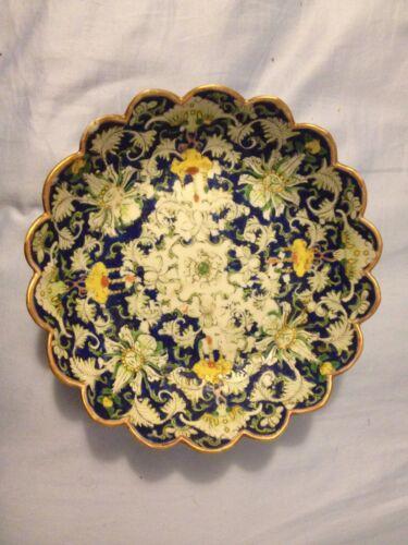 Chinese Porcelain 19th Century Rare Large Tongzhi Era Enamel Famile Rose Bowl!