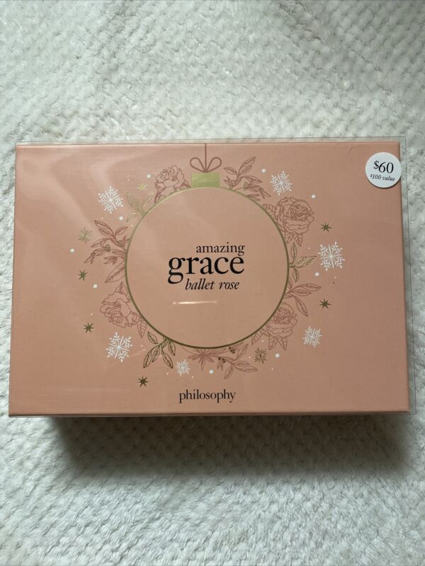 Philosophy - Amazing Grace Ballet Rose 3-PC EDT Gift Set Holiday 2020