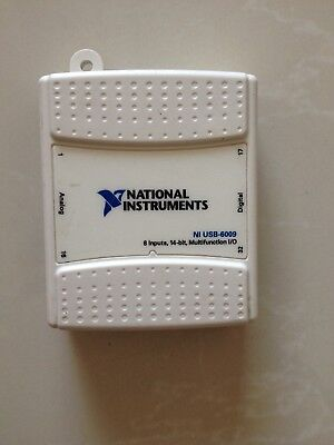 1pc National Instruments Usb-6009 Data Acquisition Card Ni Daq Multifunction