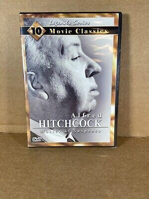 Alfred Hitchcock Master Of Suspense 10 Movie Classics Legends Series