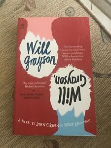 Will Grayson, Will Grayson Paper Novel by John Green & David Levithan Marayong Blacktown Area Preview