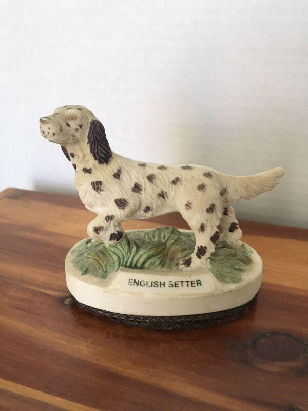 Vintage English Setter Figurine