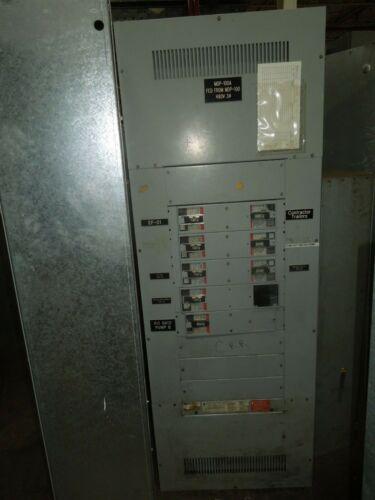 GE Spectra Series 400A 3ph 4W 480Y/277V MLO Panel w/Distribution Breakers NEMA 1
