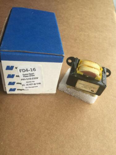 Magnetek FD4-16 115-230V 16VCT AT 0.4A Class B Quick Pack Transformer
