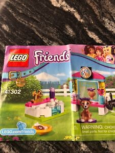 Lego friends puppy pampering building kit!! 41302