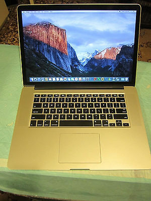 Apple RETINA Macbook Pro 15in 2015 16GB, 1TB, AMD, fully loaded