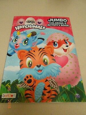 New Hatchimals Jumbo Coloring   Activity Book W  Tear And Share Pages 4 Stocking