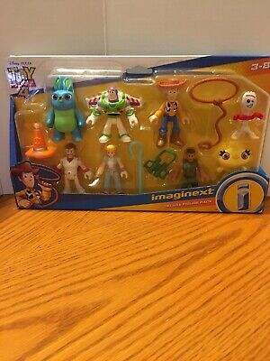 Fisher Price Imaginext Toy Story 4 Deluxe Figure Set 8 Characters Plus New