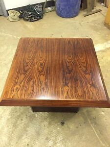 Rose wood coffee table