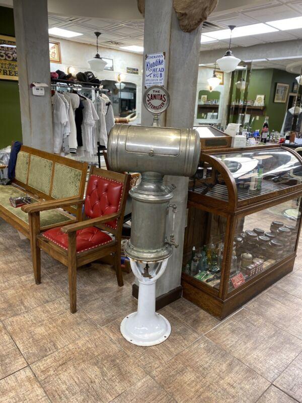 Barber Shop Barrel Top Steamer