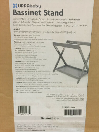 UPPAbaby Bassinet Stand, Grey 0208-G