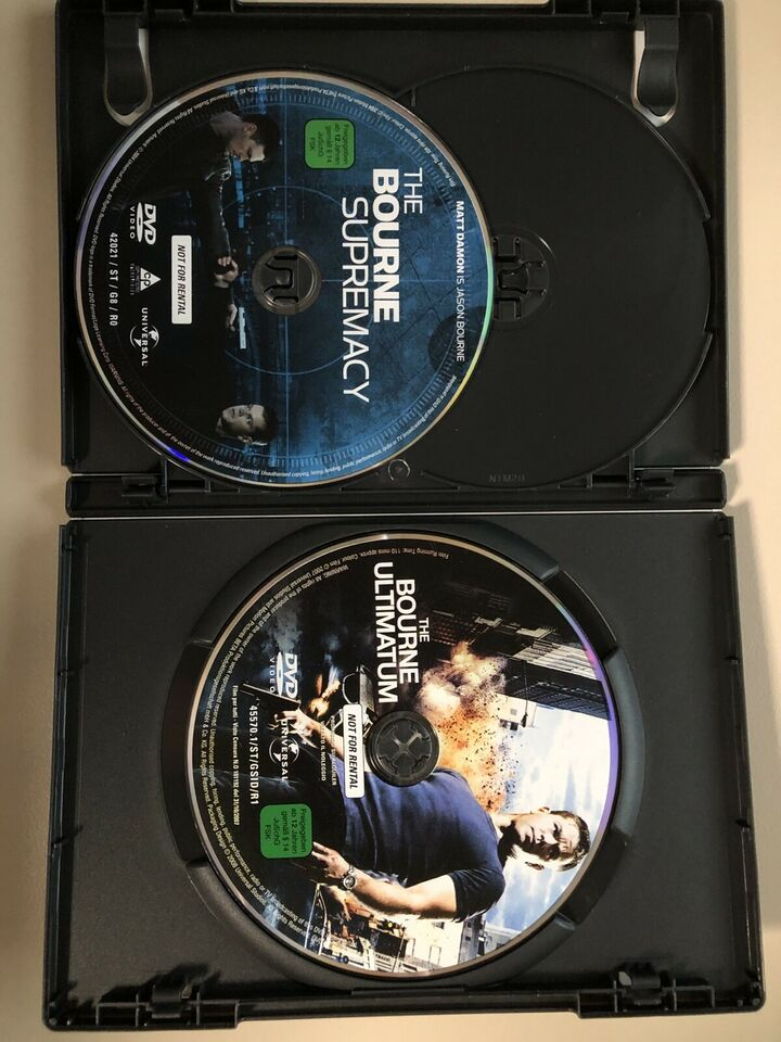 DVD's Die ultimative Bourne Collection in Schleswig-Holstein - Bargfeld-Stegen