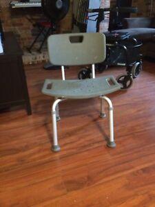 Chaise antidérapante