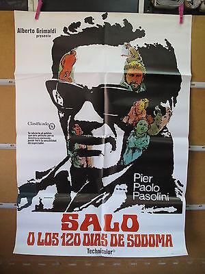 A3874 Saló, o los 120 días de Sodoma Pier Paolo Pasolini Paolo Bonacelli,  Giorg