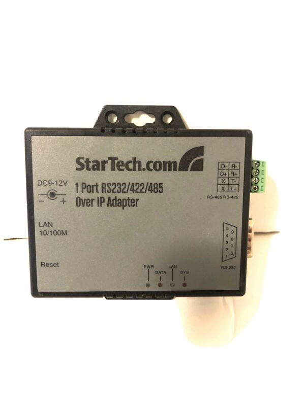 StarTech - 1 Port RS-232/422/485 Serial over IP Device Server