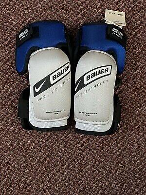 Mylec Hockey Elbow Pads Junior Pro 10/'/' 142A Black White Blue