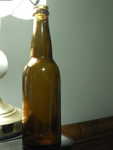 Christ Diehl Brewing Co. Defiance, Ohio ~Amber Glass Beer Bottle~ (Registered)