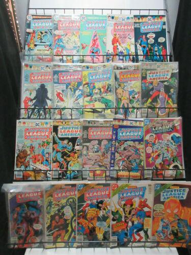 Justice League of America (DC 1975-80) #118-182 Lot of 41Dif Wonder Woman Batman