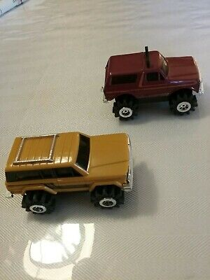 Lot of 2 Schaper Stomper Jeep Cherokee Chief & Ford Bronco!!