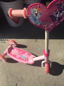 My Little Pony Toddler scooter