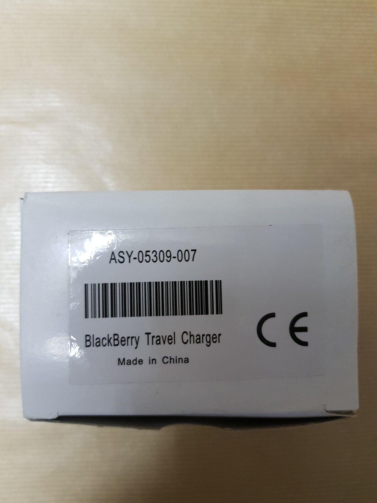 Caricabatterie Originale Da Viaggio BLACKBERRY ASY-05309-007