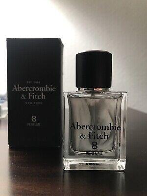 Vintage Abercrombie & Fitch PERFUME 8  PERFUME 1.0oz / 30ml Women Tall Bottle