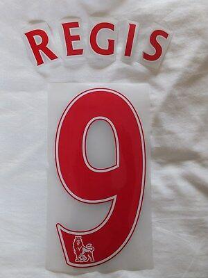 Cyrille Regis 9 Shirt Print Set West Bromwich Albion Aston Villa Wolves Coventry