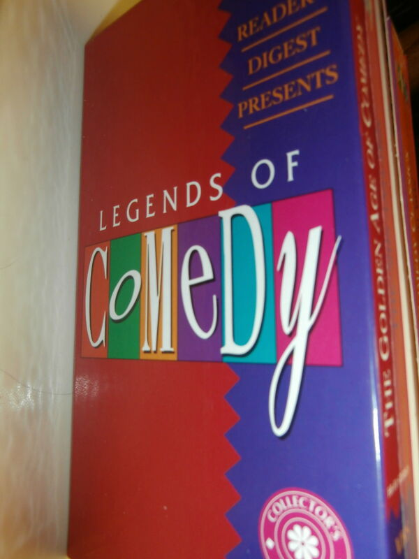 "VHS ""Readers Digest Legends of Comedy"" c1992 Lucille B Charlie C 3 Stooges"